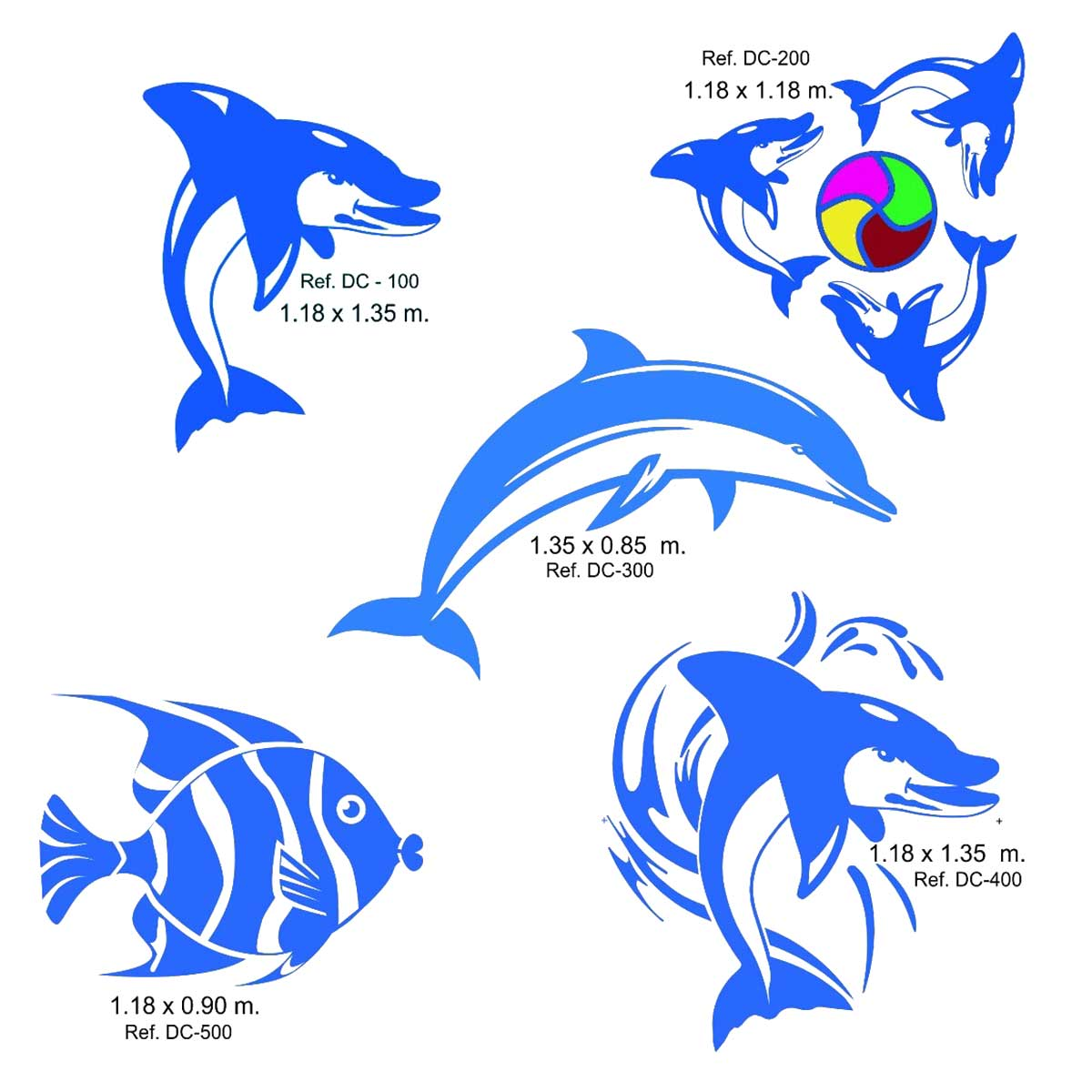 Dibujos para piscinas prefabricadas